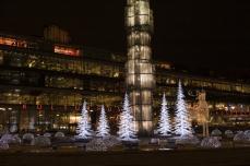 Kulturhuset i Stockholm, Jul i fontŠnen.
