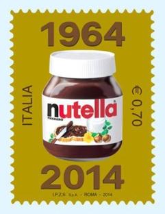Nutella ha 50 anni e ora affranchera' anche le lettere