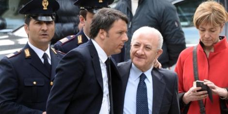 Renzi giunto a Pompei, in sede Soprintendenza