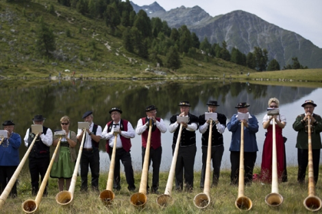Switzerland Alpenhorn Festival