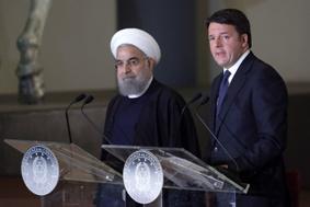 Renzi-Rowhani-conferenza