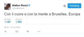 Renzi-Bruxelles