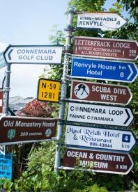 connemara-mussel-festival-road-sign