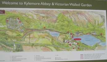 Kylemore-map